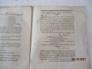 NANTES, Bretagne - Mandements, discours concernant l'évéché de Nantes par l'Evêque de Nantes , Monseigneur Duvoisin . Jean-Baptiste DUVOISIN, Eveque ...