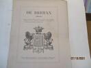 Bretagne - Généalogie de Brehan. D'Hozier