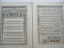 Marches et chansons de France, Recueillies par J. Vidal, chef de Musique. Oeuvres de Jean-Jacques ROUSSEAU, complète en 25 volumesolonel G. Jouvin - ...