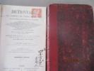 Militaria - Dictionnaire des armées de terre et de mer - Encyclopédie militaire et maritime, du Comte de CHESNEL  - 2 volumesCONTIENT : Machines et ...