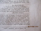 Bretagne - Récit de l'auxiliaire Breton sur l'exécution des chouans POULAIN et LOUIS, en réponse aux mensonges des feuilles carlistes, par Em. ...