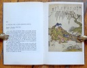 Estampes japonaises de Katsukawa Shunsho. . Boller Willy:
