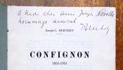 Confignon 1851-1951. Histoire du village. . Berthet Joseph-C.: