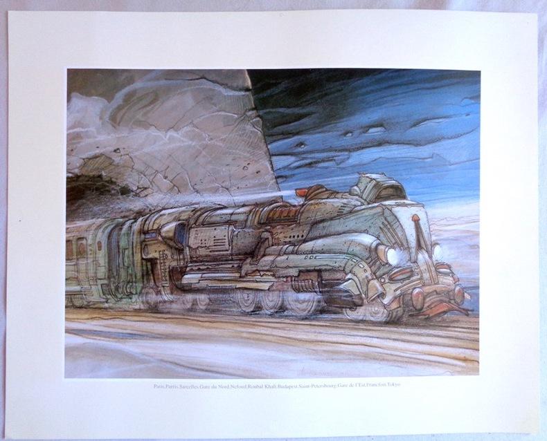 Transports - train. . Bilal Enki: