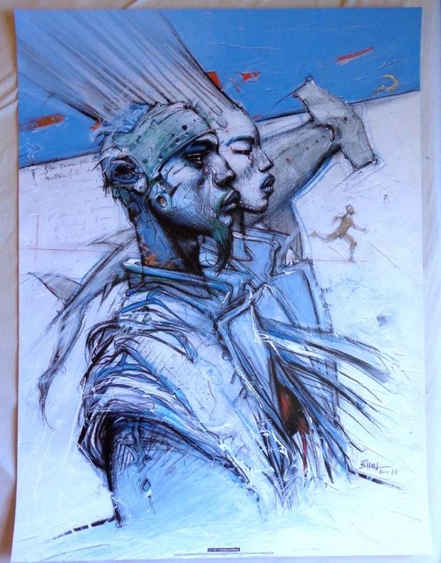 L'an deux mille un - andeuxmilleun (60 x 80). . Bilal Enki:
