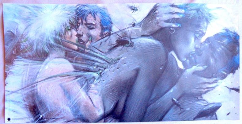 Tu m'aimes, Tu m'aimes, Tu m'aimes...? (50 x 100). Bilal Enki: