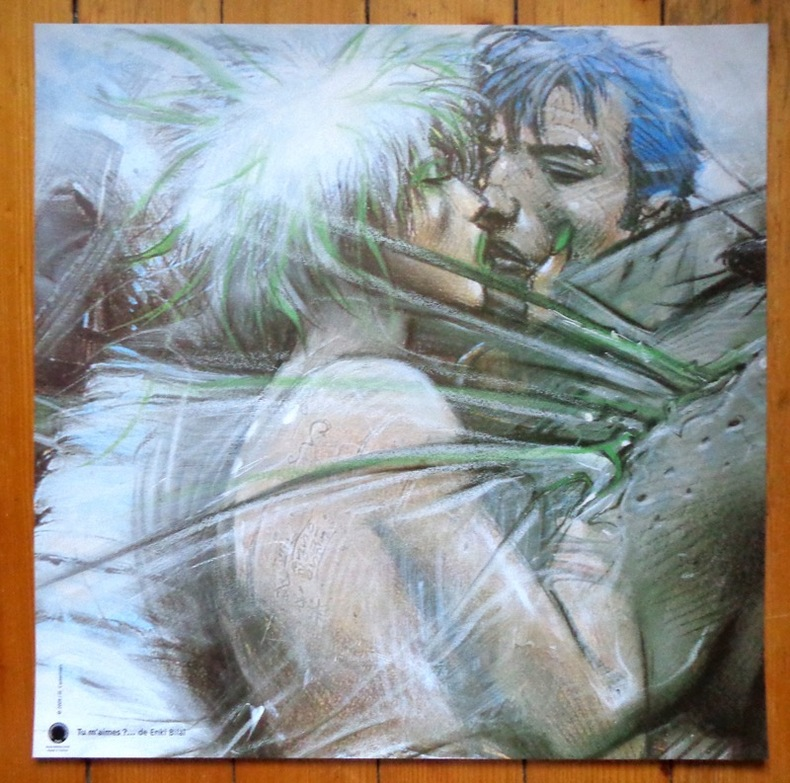 Tu m'aimes? (50 x 50). . Bilal Enki: