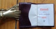 Almanach pour porte-monnaie 1898. . [Almanach]