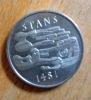Pièce commémorative 5 francs suisses / 500 ans de la Convention de Stans. . Wirth Kurt:
