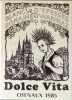 Dolce Vita - étiquette de vin. . Witzig Roland: