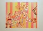 Arts ménagers, tirage rouge - Sérigraphie signée et numérotée. . Picasso Kiki: