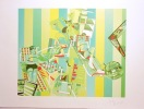 Arts ménagers, tirage vert - Sérigraphie signée et numérotée. . Picasso Kiki: