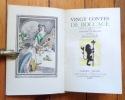 Vingt contes de Boccace. . Boccace, Antoine Le Maçon (trad.), Brunelleschi (illustration):