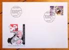Enveloppe avec timbre spécial Sierre 1992. . Zep: