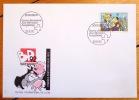 Enveloppe avec timbre spécial Sierre 1992. . Aloys: