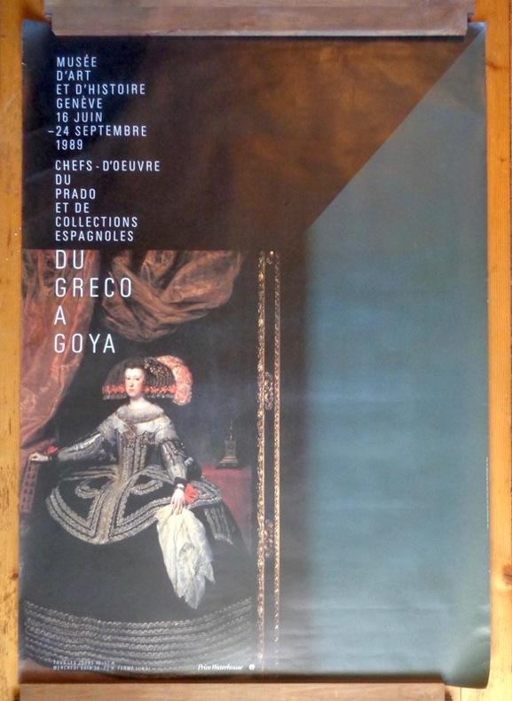 Chefs-d'oeuvre du Prado et de collections espagnoles - Du Greco à Goya. Format mondial. .