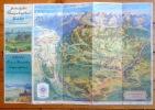 Gürbertal, le pays de Schwarzenbourg, la région du Gantrisch. Carte à vol d'oiseau avec propositions d'excursions. Vogelschaukarte mit ...
