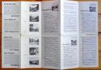 Simmental, Saanenland, Kandertal. Carte à vol d'oiseau avec propositions d'excursions. Map with proposals for excursions. Vogelschaukarte mit ...