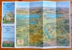 Forst Frienisberg, Seeland, Jura. Carte à vol d'oiseau..