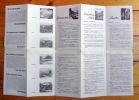 Lötschental, Lötschberg, Aletsch, Simplon. Carte à vol d'oiseau avec propositions d'excursions. Bird's eye map with proposals for excursions. ...