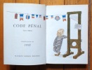 Code pénal. Texte officiel, illustrations de Siné. . Siné: