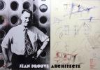 Jean Prouvé. Esquisses de mobilier scolaire, vers 1950. . [Prouvé Jean]: