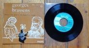 Georges Brassens et sa guitare chante les poètes de tous les temps. . Brassens Georges: