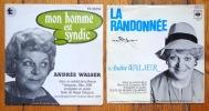 Mon homme est syndic - La randonnée. . Delapraz Roger, Andrée Walzer (interprétation), Albert Urfer (musique):