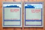 La Savoie. I: Le lac Léman, les Vallée de la Dranse, la Vallée du Giffre, la Vallée de l'Arve - II: Genève, Le Rhône, Hautecombe, Annecy, Les Bauges, ...