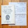 Le Mystère d'Abraham tiré de la Bible par F. Chavannes et tel qu'il a été représenté dans l'église de Pully les 2, 4, 6, 8 et 9 mars 1916. . Chavannes ...