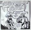 Barbarella - Le Semble-Lune. Strip original à l'encre de Chine pour la page 35. . Forest Jean-Claude: