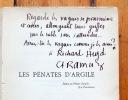 Les pénates d'Argile. Essai de littérature romande. . Collectif - C.-F. Ramuz, Adrien Bovy, Alexandre Cingria, Adalbert d'Aigues-Belles ...