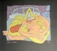 La grenouille - Sérigraphie signée et numérotée. . Hidalgo Manolo :
