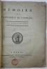 Mémoire sur lintérieur de lAfrique.. LALANDE (Joseph-Jérôme, Le Français de).