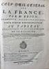 [ATLAS] Coup dil général sur la France [] pour servir dintroduction au Tableau analytique et géographique de ce Royaume.. DESNOS (Louis Charles), ...