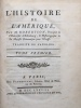 LHistoire de lAmérique.. ROBERTSON (WILLIAM).