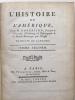 LHistoire de lAmérique.. ROBERTSON (WILLIAM)