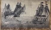 Recueil des bâtiments dans lesquels a navigué Jean Jaubert de Marseille de 1776 jusquà [1815].. [MANUSCRIT ORIGINAL / AQUARELLES/ MARINE].