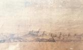 « Ligne de Bataille de larmée combinée de France et dEspagne sous le commandement de Mr le Cte dOrvilliers. Chassent larmée Angloisse dans la Manche ...