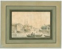 [Amsterdam - Scène dactivité maritime].. [OZANNE (Nicolas ou Pierre).]