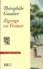 Zigzags en France. Gautier Théophile