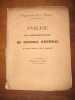 Analyse des délibérations du Conseil général du département de la Drome. Session de 1834..