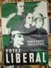 Parti Libéral. Affiche électorale..