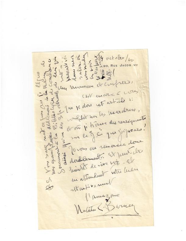 « L'Amazone  Natalie Barney » . BARNEY (Nathalie CLIFFORD) femme de lettres américaine (1876-1972)