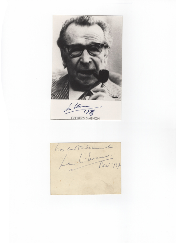 . SIMENON (Georges) (1903-1989)