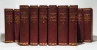 Histoire naturelle, 51 volumes. Buffon : Oiseaux (17 vol.) ; Quadrupèdes (14 vol.). Lacépède : Quadrupèdes, ovipares, serpents (4 vol.); Cétacés (2 ...