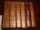 Guide du voyageur en France (6 volumes complet) Contenant la statistique & la description complète des 86 départements .