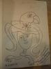 Avec un envoi de l'auteur et un dessin original d'Henri Gineste. Paul Baqué   de l'Académie Gauloise  les cinq saisons du grand Zygomatique