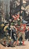 L'Ancienne chanson populaire en France (16e et 17e siècle). 30 anciens airs notés et chromotypographiés. Paris Garnier 1887.. WECKERLIN J.- B.