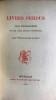 Livres perdus. Essai Bibliographique sur les livres devenus introuvables. Bruxelles Gay et Doucé 1882.. PHILOMNESTE Junior (BRUNET Pierre-Gustave, ...